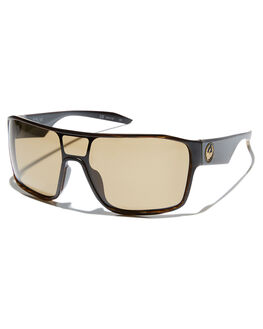 WOODGRAIN BROWN MENS ACCESSORIES DRAGON SUNGLASSES - 38356-281WBRWN