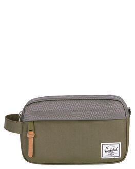 IVY GREEN PEARL MENS ACCESSORIES HERSCHEL SUPPLY CO BAGS + BACKPACKS - 10347-02134-OSIVY