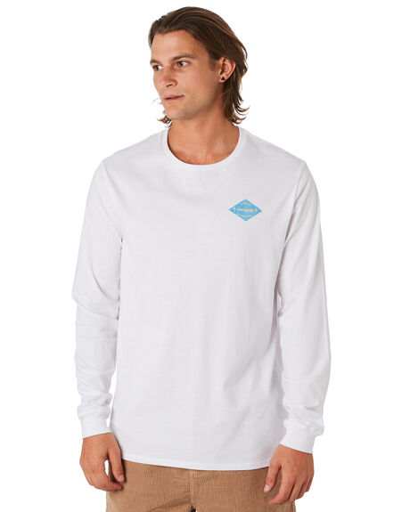 WHITE MENS CLOTHING SWELL TEES - S5201101WHITE