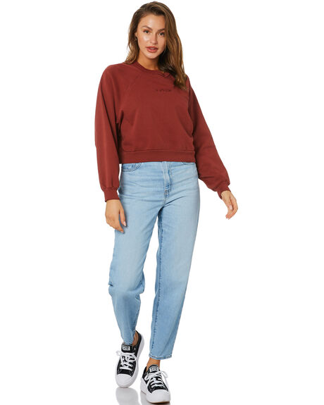 DYE MADDER BROWN WOMENS CLOTHING LEVI'S JUMPERS - 18722-0003BRN