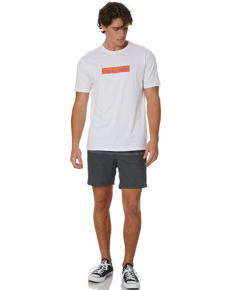 WHITE MENS CLOTHING STAY TEES - STE-20401WHT