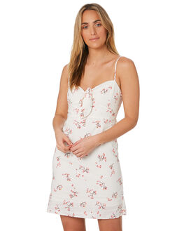 FLORAL PRINT OUTLET WOMENS ELWOOD DRESSES - W937214JR