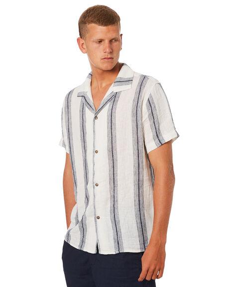 NAVY MENS CLOTHING RHYTHM SHIRTS - NOV18M-SS01NAV