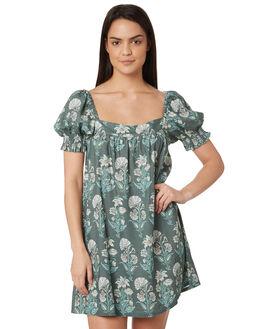 OLIVE WOMENS CLOTHING TIGERLILY DRESSES - T395445OLI