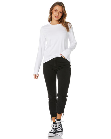 WHITE WOMENS CLOTHING AS COLOUR TEES - 4056WHT