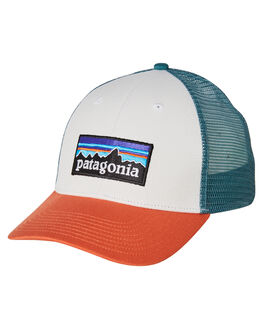 WHITE SUNSET ORANGE MENS ACCESSORIES PATAGONIA HEADWEAR - 38016WHSU