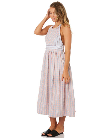 PINK COMBO OUTLET WOMENS FREE PEOPLE DRESSES - OB9216666024