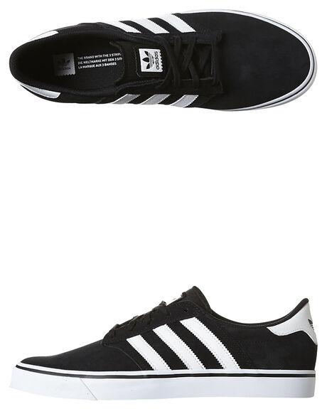 Adidas originali seeley prima scarpa nero bianco surfstitch