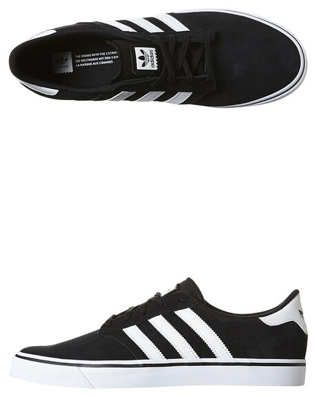 BLACK WHITE WHITE MENS FOOTWEAR ADIDAS ORIGINALS SNEAKERS - B72578BKWH