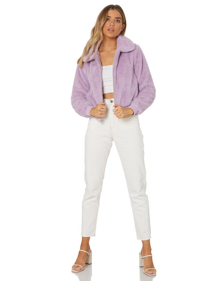 LILAC WOMENS CLOTHING MINKPINK JACKETS - MP2011483LILAC