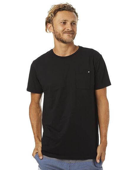 BLACK MENS CLOTHING BILLABONG TEES - 952046BLK