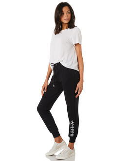 BLACK WOMENS CLOTHING HURLEY PANTS - AGPTIC19010