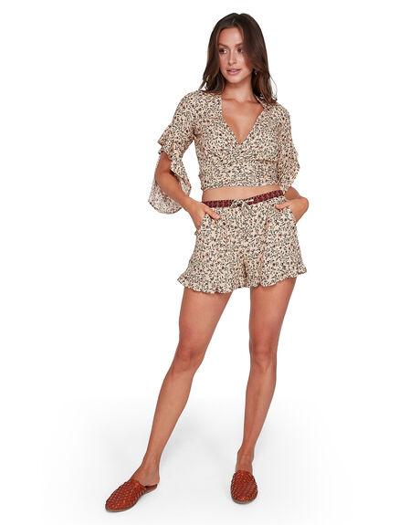 CARAMEL WOMENS CLOTHING BILLABONG SHORTS - BB-6503343-CML
