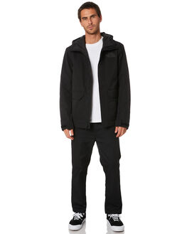 TNF BLACK MENS CLOTHING THE NORTH FACE JACKETS - NF0A4AGCJK3