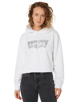 WHITE WOMENS CLOTHING LEVI'S JUMPERS - 56350-0006WHT