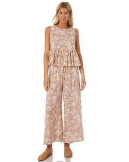 BLUSH FLORAL WOMENS CLOTHING SAINT HELENA FASHION TOPS - SH18S1842BLUSH