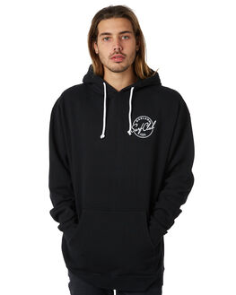 BLACK MENS CLOTHING OAKLAND SURF CLUB JUMPERS - SP18-S3-BBLK
