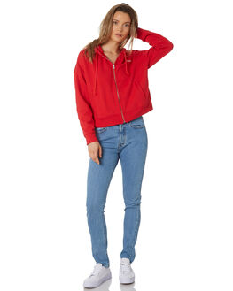 LYCHEE RED WOMENS CLOTHING LEVI'S JUMPERS - 69642-0000RED