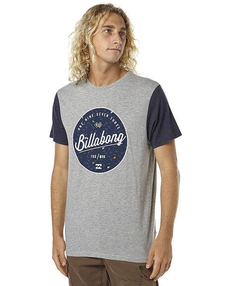 GREY MARLE MENS CLOTHING BILLABONG TEES - 9561026GRYM