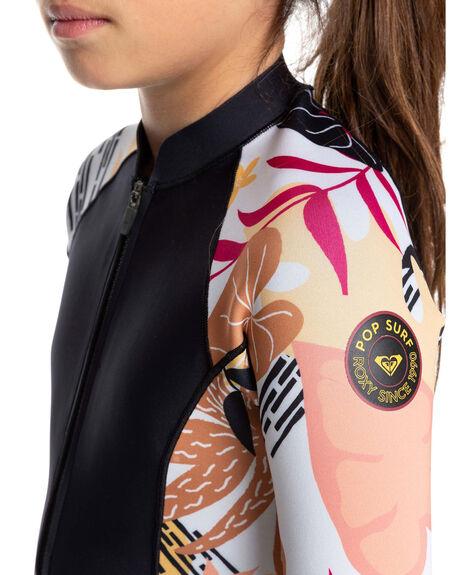 BLACK/TERRA COTTA BOARDSPORTS SURF ROXY GIRLS - ERGW403007-XKKM