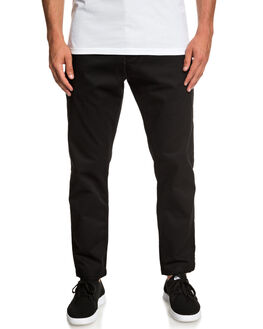 BLACK MENS CLOTHING QUIKSILVER PANTS - EQYNP03161-KVJ0