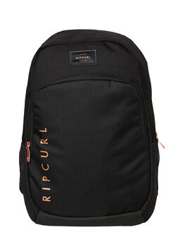 BLACK WOMENS ACCESSORIES RIP CURL BAGS + BACKPACKS - LBPKI10090