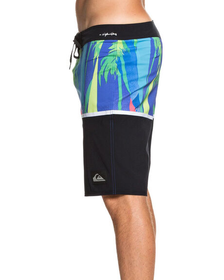 BLACK MENS CLOTHING QUIKSILVER BOARDSHORTS - EQYBS04302-KVJ6