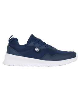 NAVY WHITE KIDS BOYS DC SHOES SNEAKERS - ADBS700077-NWH