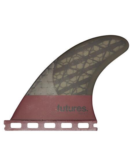 RED BOARDSPORTS SURF FUTURE FINS FINS - Q2L-020407-5RED