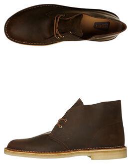 BEESWAX MENS FOOTWEAR CLARKS ORIGINALS BOOTS - SS146289BEESM