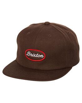 BROWN MENS ACCESSORIES BRIXTON HEADWEAR - 00870BRN
