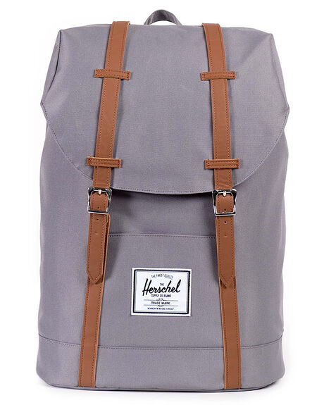 Herschel Supply Co Retreat Backpack - Grey Tan  26a54095187fc