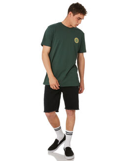 GREEN MENS CLOTHING ELEMENT TEES - 184014GRN