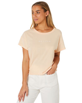 PEACH WOMENS CLOTHING RHYTHM TEES - JUL19W-PT02PEAC