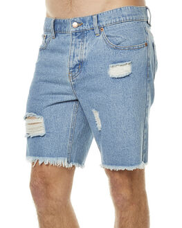 STONE BLUE MENS CLOTHING AFENDS SHORTS - 09-05-020STNBL