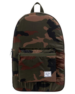 WOODLAND CAMO MENS ACCESSORIES HERSCHEL SUPPLY CO BAGS + BACKPACKS - 10076-01899-OSWOOD