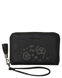 BLACK WOMENS ACCESSORIES RIP CURL PURSES + WALLETS - LWUHD10090