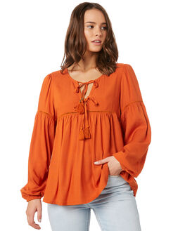 RUSTIC OUTLET WOMENS BILLABONG FASHION TOPS - 6595115R93