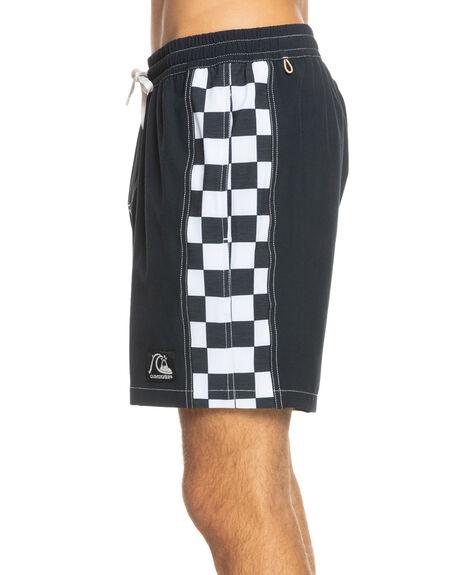 BLACK MENS CLOTHING QUIKSILVER BOARDSHORTS - EQYJV03760-KVJ0