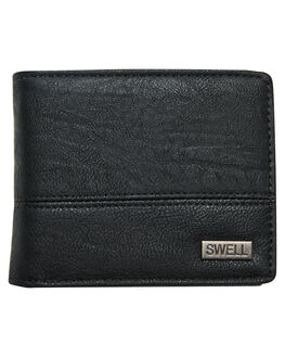 BLACK MENS ACCESSORIES SWELL WALLETS - S51841582BLK