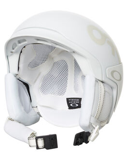 MATTE WHITE SNOW ACCESSORIES OAKLEY PROTECTIVE GEAR - 99432FP-11B