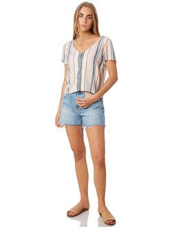EARTH STRIPE WOMENS CLOTHING O'NEILL FASHION TOPS - 5421205EST