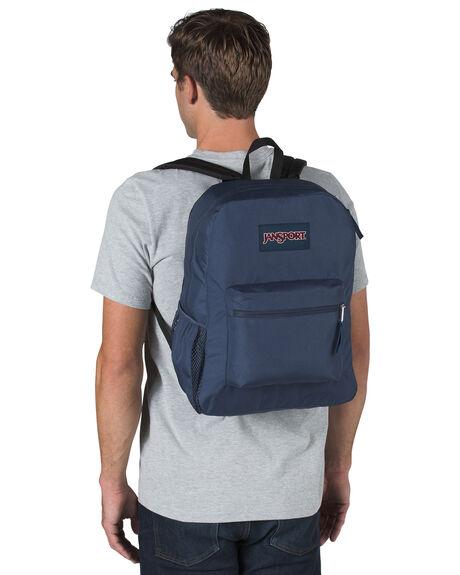 NAVY MENS ACCESSORIES JANSPORT BAGS + BACKPACKS - JS0A47LWJS003