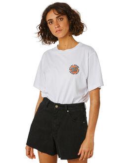 WHITE WOMENS CLOTHING SANTA CRUZ TEES - SC-WTD9962WHI