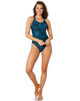 BLACK LAKE WOMENS SWIMWEAR SPEEDO ONE PIECES - 22T27-7888BKLKE