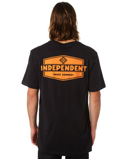 BLACK MENS CLOTHING INDEPENDENT TEES - IN-MTC8207BLK
