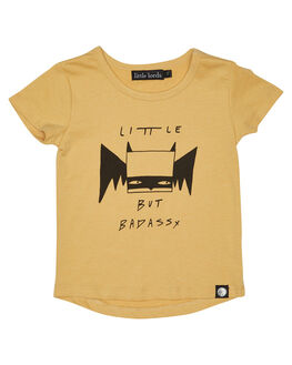 MUSTARD KIDS TODDLER BOYS LITTLE LORDS TEES - SS18009MSTRD