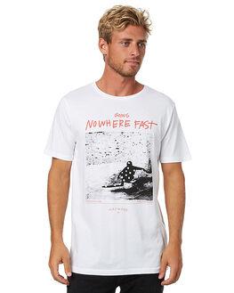 WHITE MENS CLOTHING MAYWOOD TEES - MWT-008_WHT