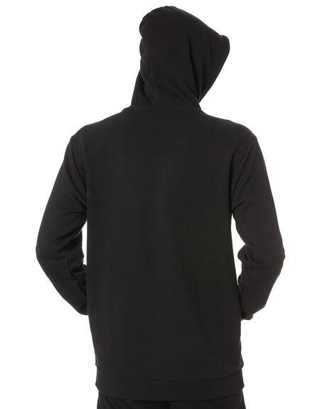 BLACK MENS CLOTHING ADIDAS JUMPERS - FM9956BLK