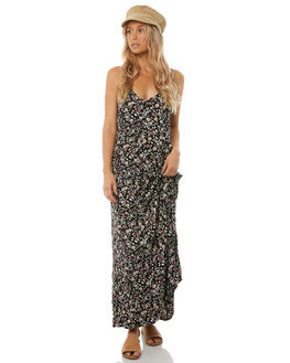 PALMA FLORAL WOMENS CLOTHING THE HIDDEN WAY DRESSES - H8182444PALMA